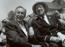 Ed Wynn and Walt Disney
